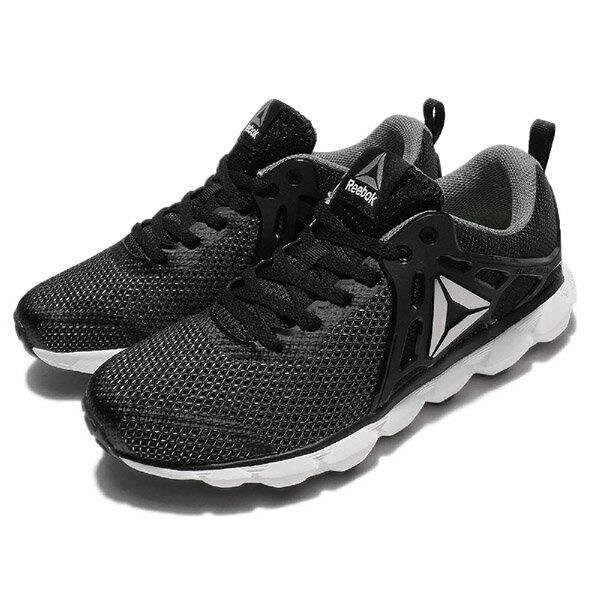 【REEBOK】HEXAFFECT RUN 5.0 MTM 運動鞋 休閒鞋 女鞋 黑色 -BD4704