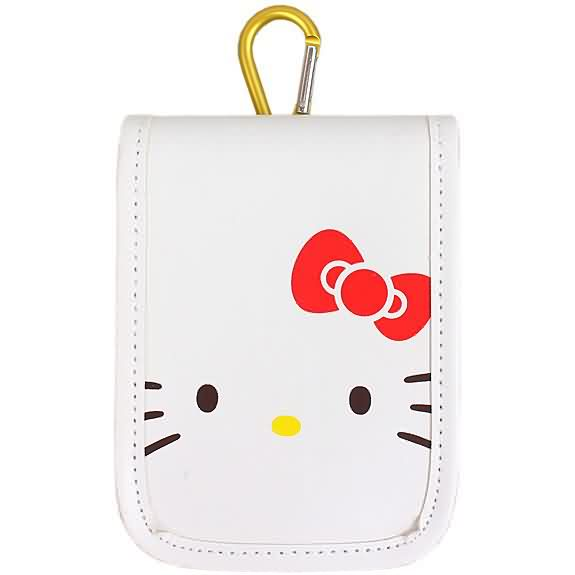 X射線【C765472】Hello Kitty 造型手機套,美妝小物包/媽媽包/面紙包/化妝包/零錢包/收納包/皮夾/手機袋/鑰匙包