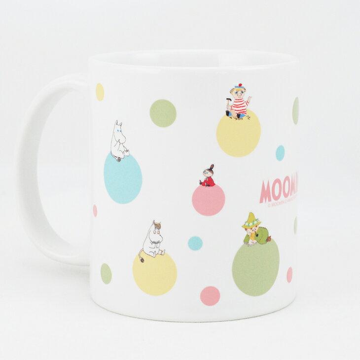 Moomin嚕嚕米授權 - 馬克杯 / 牛奶杯:【 彩虹泡泡 】