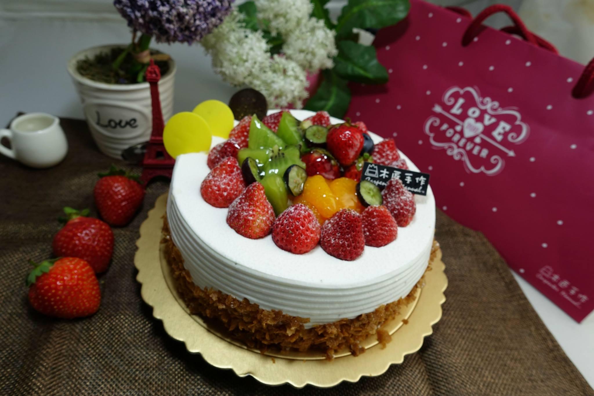 木匠手作★客製化生日蛋糕(8吋) 2