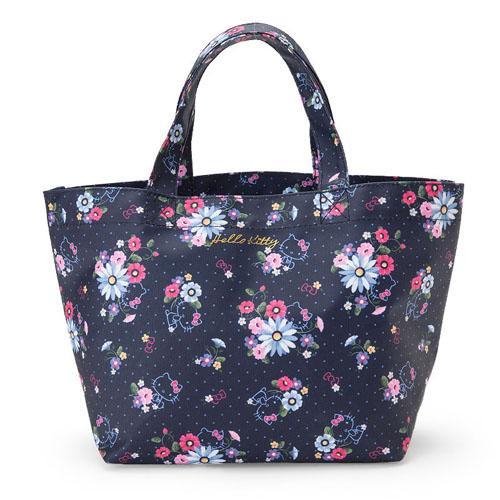 大賀屋 日貨 Hello Kitty 手提包 包包 化妝包 零錢包 防水包 便當袋 女包 小包 正版 J00016113