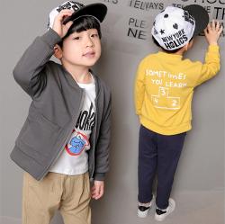 【另有現貨專區75折up 24小時出貨搶購中】Q嫩童裝 中大男童春季新款韓版棒球服外套 WDWD129