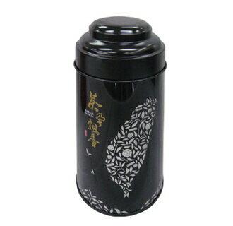 玄砡茶業:【玄砡茶業】台灣高山手採金萱茶台茶124兩裝(150g)黑色罐子