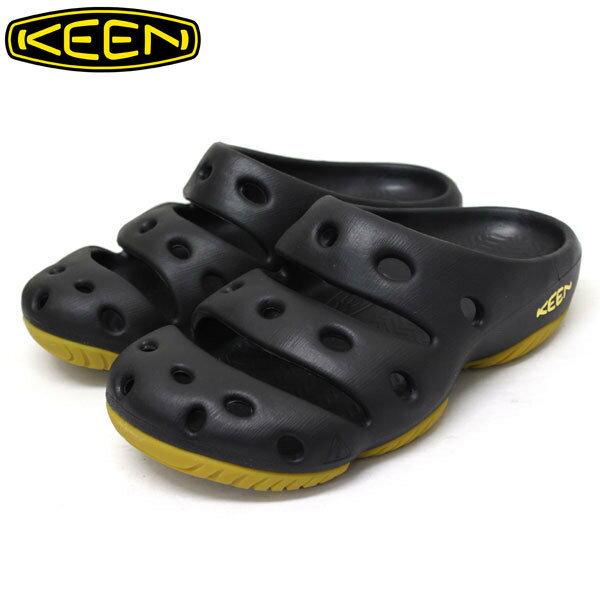├登山樂┤美國 KEEN YOGUI專業戶外護趾拖鞋/涼鞋-黑 # 1001966
