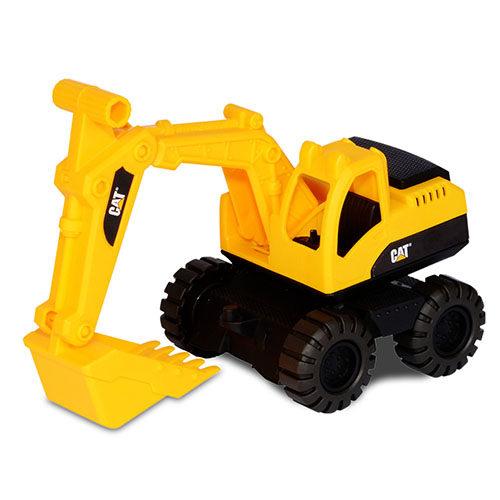 美國大牌CAT7吋經典工程車挖土機【鯊玩具ToyShark】