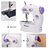 Mini Portable Sew 2-Speed Sewing Machine + 4 Bobbins 3