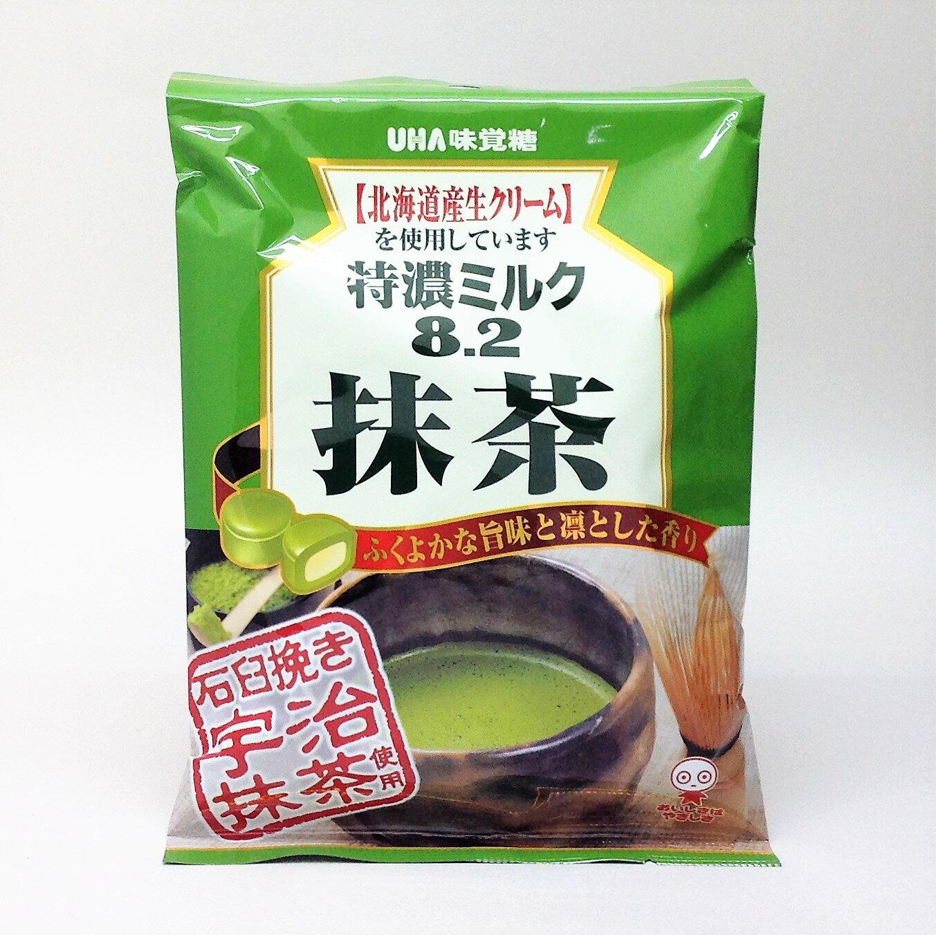【橘町五丁目】UHA味覺糖特濃牛奶8.2抹茶糖