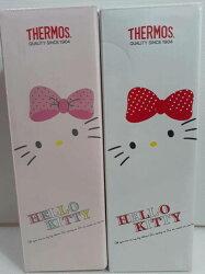 THERMOS 膳魔師Hello Kitty不鏽鋼真空保溫杯0.3L(JNC-300KT)【淨妍美肌】