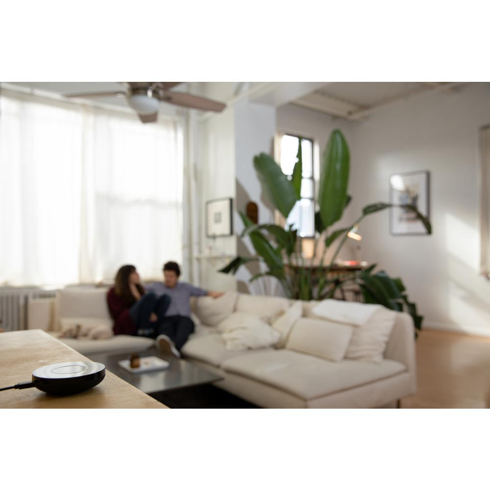 Bond Smart Home Automation Wi-Fi Ceiling Fan or Fireplace Remote Hub Works  with Alexa, Google Home
