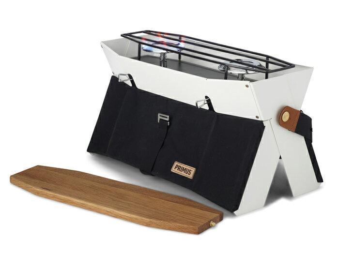 【露營趣】PRIMUS 229010 Onja 高效能時尚雙口爐 烤肉爐 雙口瓦斯爐 瓦斯雙爐 燒烤爐 露營 野餐