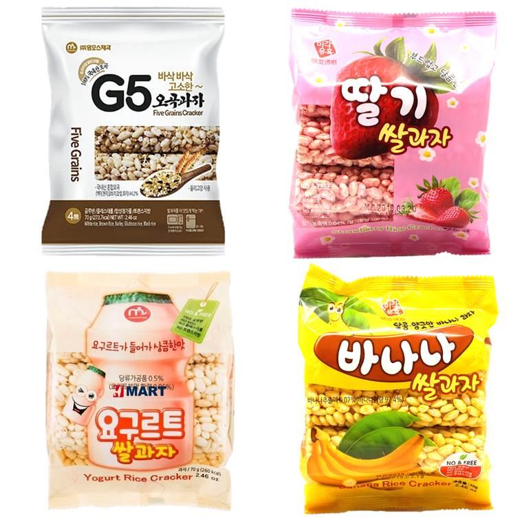 【mammos】韓國馬摩斯米香棒-香蕉 / 草莓 / 養樂多 / G5穀物 韓國進口零食 3.18-4 / 7店休 暫停出貨 2