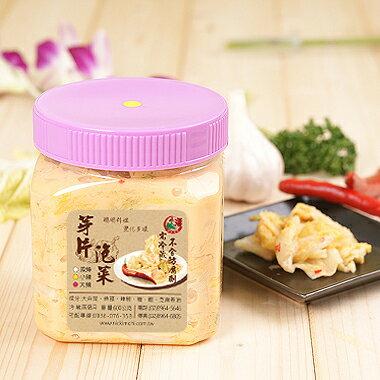 小潘芽片泡菜(小辣) 1罐/600克