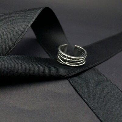 925純銀戒指銀飾~ 獨特大方 生日情人節 女飾品73ic6~ ~~米蘭 ~