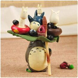 優生活 宮崎駿 豆豆龍 Totoro龍貓 疊疊樂 景觀 生態 裝飾公仔