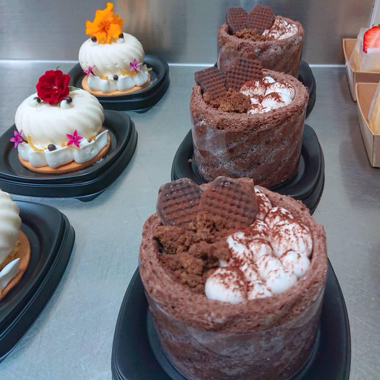 夏洛特蛋糕 (巧克力布蕾)
