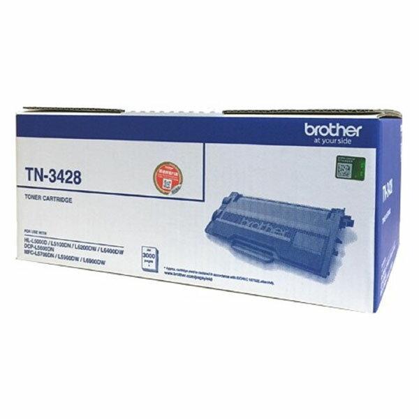 Brother 黑色碳粉匣 TN~3428  3K  HL~L5000D  HL~L510