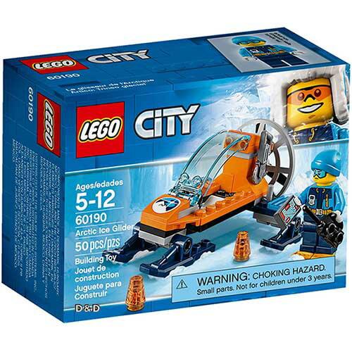 樂高積木LEGO《LT60190》2018年CITY城市系列-極地冰上滑行機