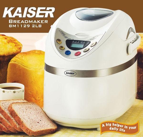 KAISER 威寶  多功能麵包製造機  BM1129 0
