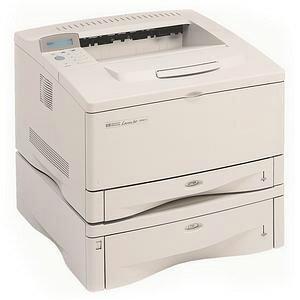 HP LaserJet 5000N Laser Printer - Monochrome - 1200 x 1200 dpi Print - Plain Paper Print - Desktop - 16 ppm Mono Print - A3, Custom Size 0