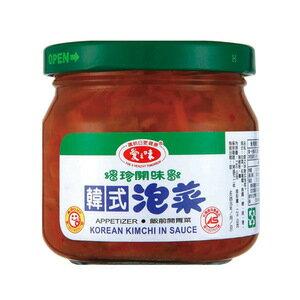 愛之味 韓式泡菜(玻璃罐) 190g