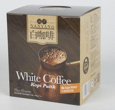 BKC馬廣濟 南洋白咖啡 25gX10包/盒 不添加蔗糖 不含反式脂肪