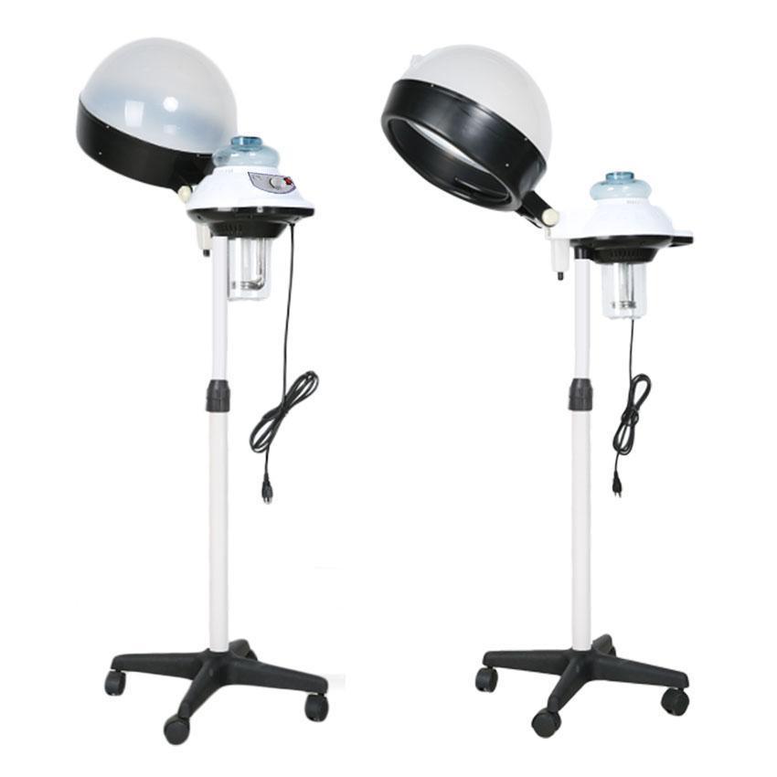 Professional Salon Hair Steamer Rolling Stand Base Beauty Hood Color Processor Adjustable Hair Dryer 110V 1