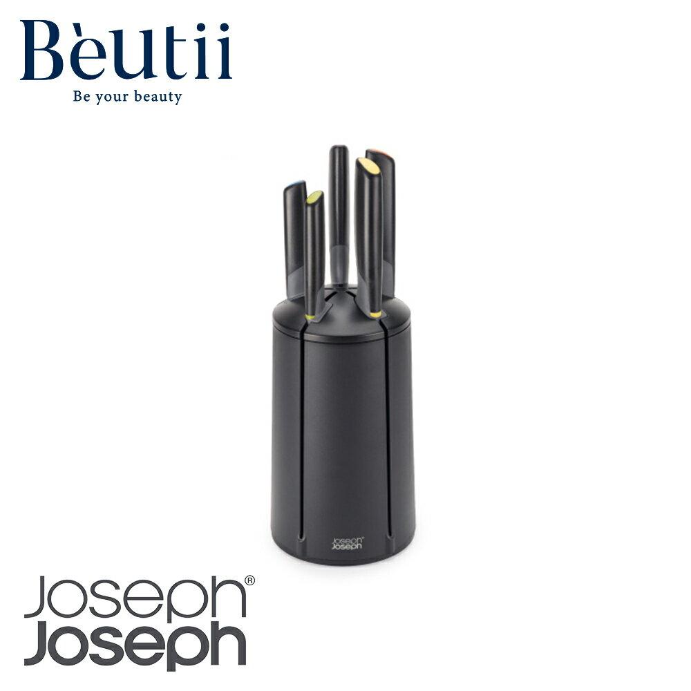 Joseph Joseph 好收納不沾桌不鏽鋼刀具組(五入) 英國 餐廚用品