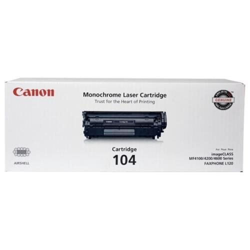 Canon Toner Cartridge 104 - Black 0