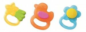 『121婦嬰用品館』貝親 冰涼固齒器 小花/星星/小鴨