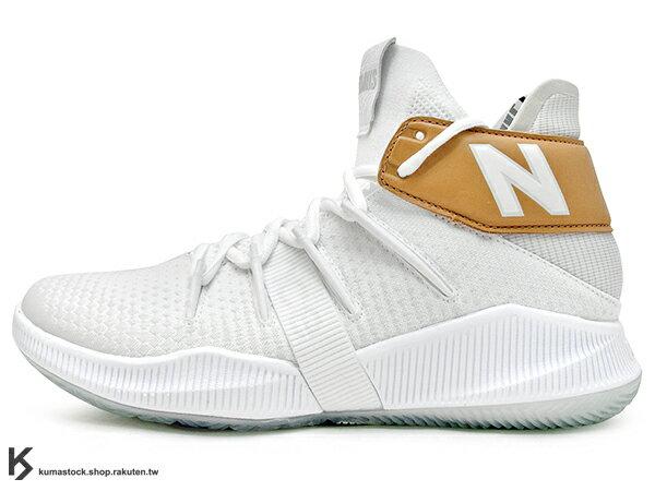 2019 最新 NBA 總冠軍 Kawhi Leonard 強力代言 NEW BALANCE WMNS OMN1S 女鞋 女版 白金 全腳掌的 FUELCELL 緩震科技 MVP 籃球鞋 紐巴倫 小可愛 (WBOMN1TS) 1219NBA 0