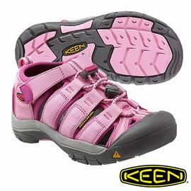 Keen Newport H2 兒童護趾水陸 兩用鞋 粉紅 1012315