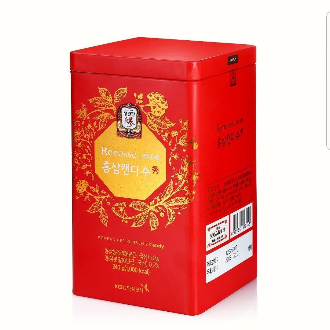 【正官庄】高麗蔘糖240g / 盒 附提袋 4 / 10左右出貨 3