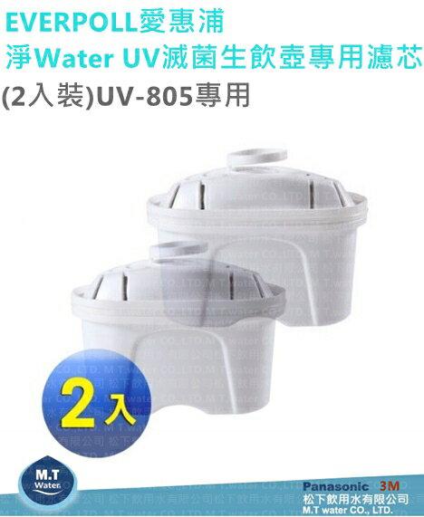 EVERPOLL 淨Water UV滅菌生飲壺專用濾芯(2入裝)UV-805專用