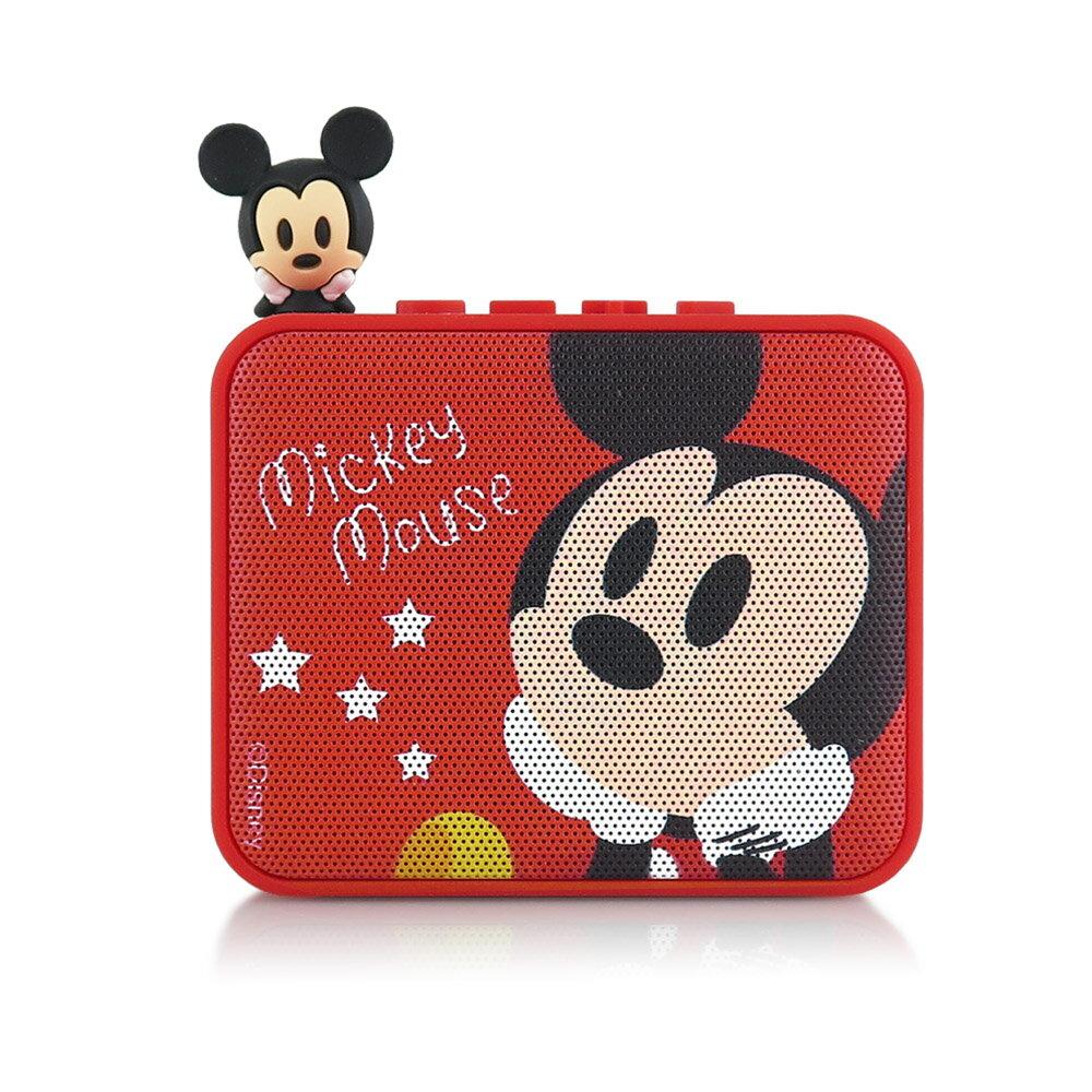 Disney迪士尼 公仔造型藍芽喇叭-米奇Mickey 藍牙喇叭 音箱 正版3C
