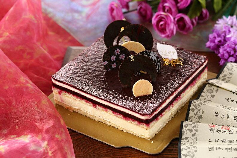 小野小町-黑莓起司白巧克力蛋糕6吋 0