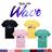 ◆快速出貨◆T恤.情侶裝.班服.MIT台灣製.獨家配對情侶裝.客製化.純棉短T.星空WAVE【YC397】可單買.艾咪E舖 0