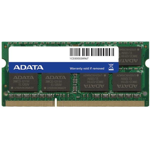 【新風尚潮流】威剛筆記型記憶體 2G DDR3-1600 穩定性高 終身保固 AD3S1600C2G11-R