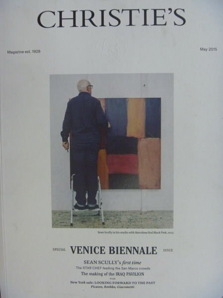 【書寶二手書T7/收藏_YBP】Christies_2015/5_Venice Biennale等