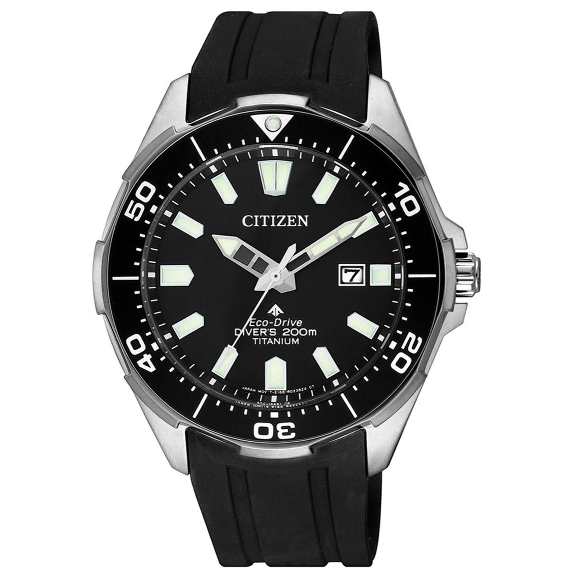 清水鐘錶 CITIZEN 星辰 BN0200-13E PROMASTER 光動能鈦金屬冒險極致潛水腕錶 黑 44mm