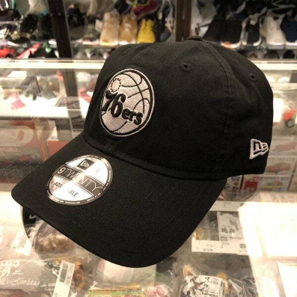 BEETLENEWERA76ERS費城76人NBA老帽黑白LOGO