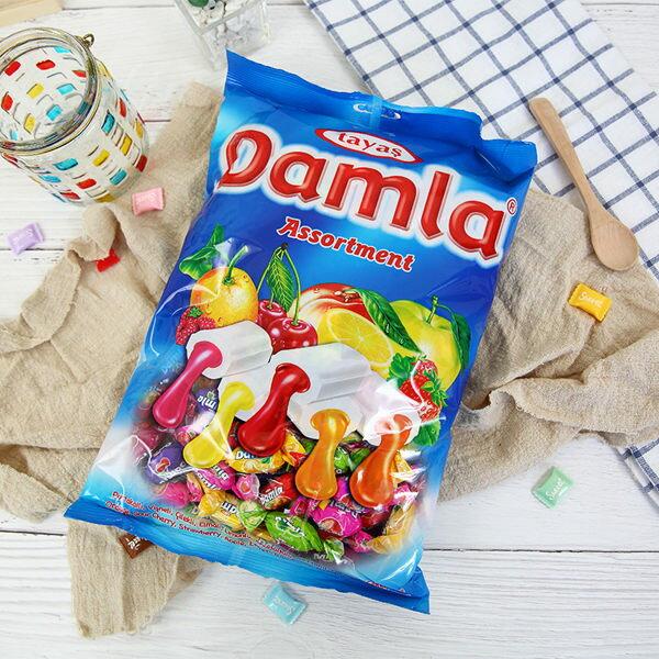 土耳其Tayas塔雅思Damal岱瑪菈什錦口味軟糖1000g【庫奇小舖】