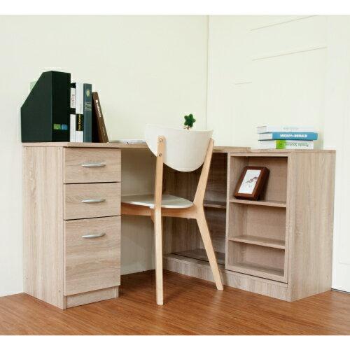 《Hopma》淺像木百變活動書櫃書桌組