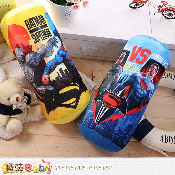 抱枕 蝙蝠俠對超人 正義曙光電影授權正品長形抱枕 魔法Baby~c0122