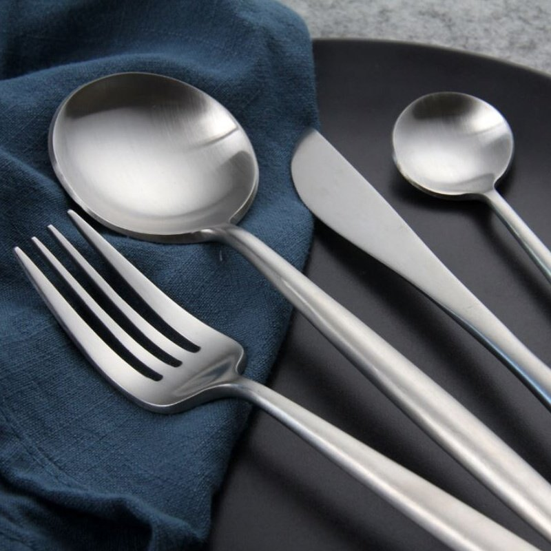 不鏽鋼 精緻 時尚 歐式 餐具 茶勺款