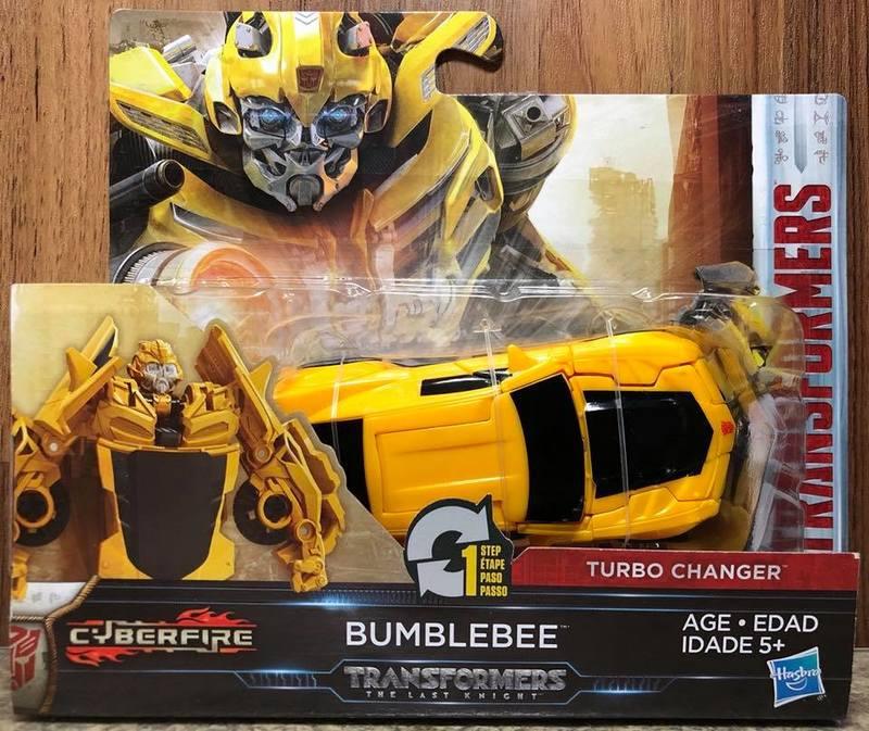 ☆勳寶玩具舖【現貨】變形金剛 電影5 一步快變戰將--大黃蜂 BUMBLEBEE