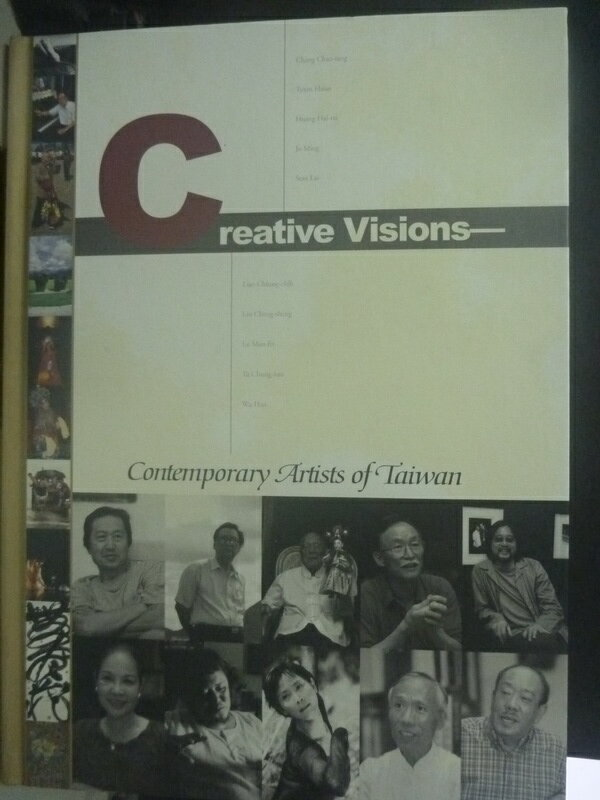 【書寶二手書T7/傳記_ZDZ】Creative visions : contemporary artists in T