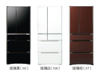 HITACHI 日立 RG620FJ 六門冰箱(620L) ~日本原裝進口~