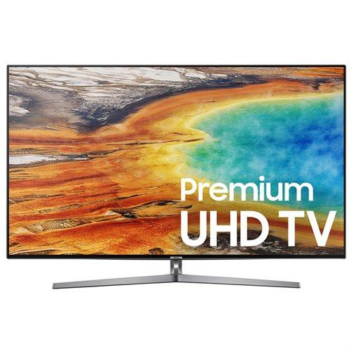 "Samsung 9000 UN55MU9000F 55"" 2160p LED-LCD TV - 16:9 - 4K UHDTV - Gray, Black - ATSC - 3840 x 2160 - DTS Premium Sound 5.1, Dolby Digital Plus - 40 W RMS - Full Array LED Backlight - Smart TV - 4 x HDMI - USB - Ethernet - Wireless LAN - DLNA Certified - P 0"
