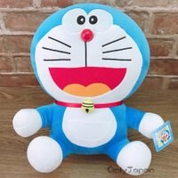 小叮噹週邊商品推薦【真愛日本】18020300007 坐娃-18吋小叮噹 哆啦A夢 Doraemon 小叮噹 娃娃 玩偶 絨毛娃娃