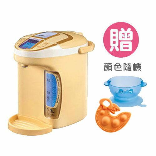 Simba小獅王辛巴LCD五段式定溫調乳器【買一送二(吸盤碗+固齒器)】【悅兒園婦幼生活館】